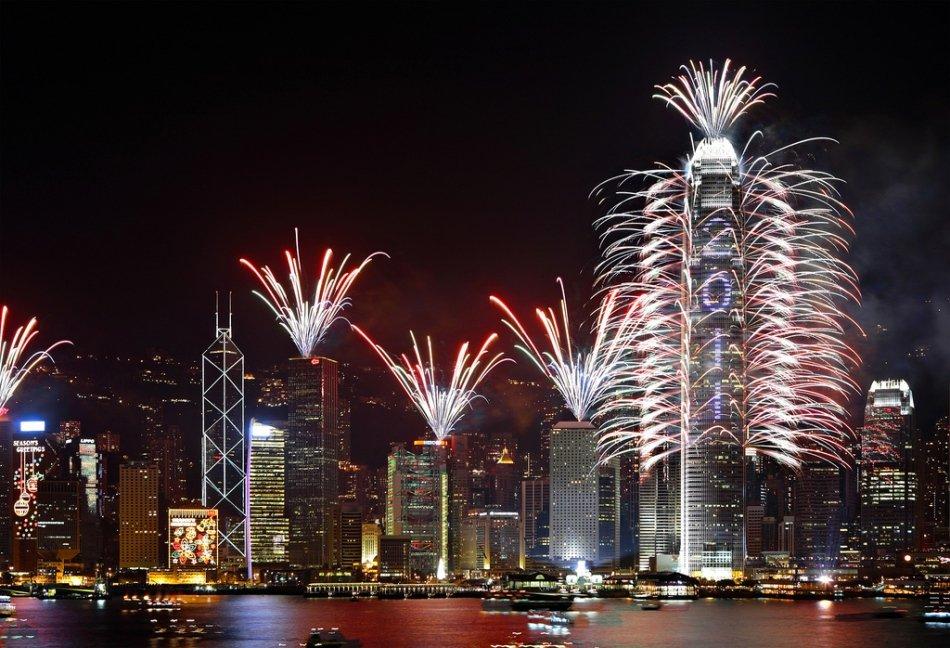 Hong Kong - Viktória-kikötő